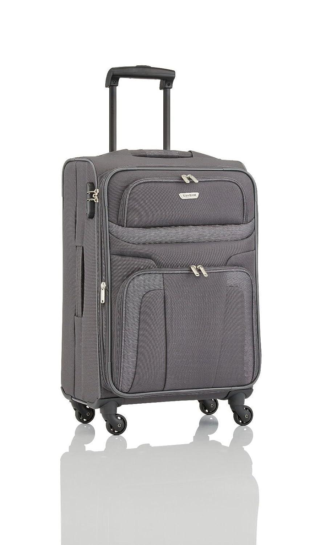 Travelite Orlando 4w Trolley L, erweiterbar, Anthrazit,98549-04 Bagage Cabine, 75 cm, 95 liters, Gris (Anthrazit)