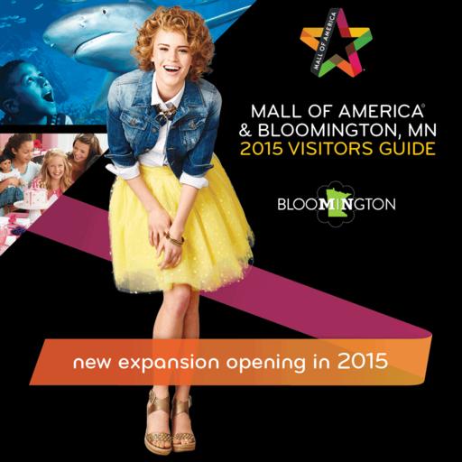MalMOA Bloomington Guide - Bloomington Mall