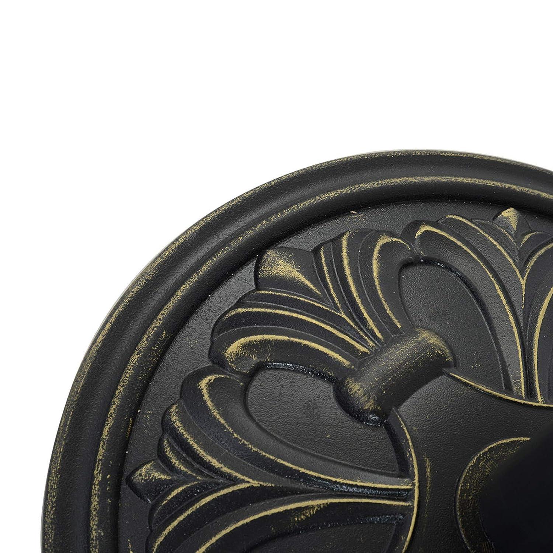 Outsunny Base per Ombrellone per Palo da 35mm//38mm//48mm Peso 13KG da Giardino HDPE /Φ48x34cm