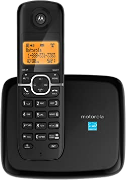 Amazon Com Motorola Dect 6 0 Cordless Phone With 1 Handset And Caller Id L601m Electronics