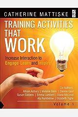 Training Activities That Work Volume 1 Paperback
