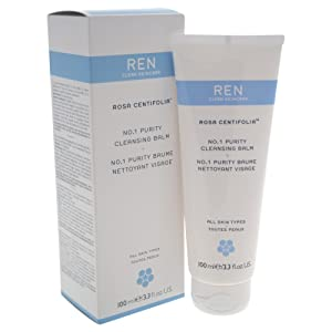 REN Rosa Centifolia No.1 Purity Cleansing Balm, 3.3 Ounce