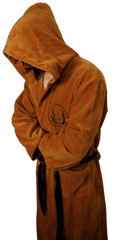 Star Wars Luxury Jedi Velour Bathrobe/Dressing Gown: Amazon.co.uk ...