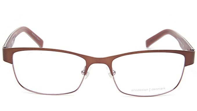 c08f90423f Amazon.com  NEW PRODESIGN DENMARK 1267 c.5021 BROWN EYEGLASSES FRAME ...