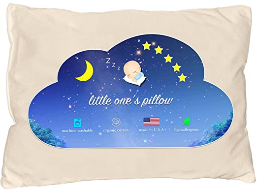 Little One's Toddler Pillow - All-Natural and Soft Feel