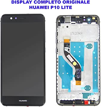 Cristal Pantalla Pantalla LCD Touch Screen Huawei P10 Lite Negro ...
