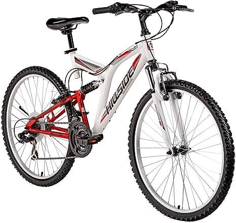 Bicicleta de montaña Cliff 2.1 Hillside, color blanco, rueda de 26 ...