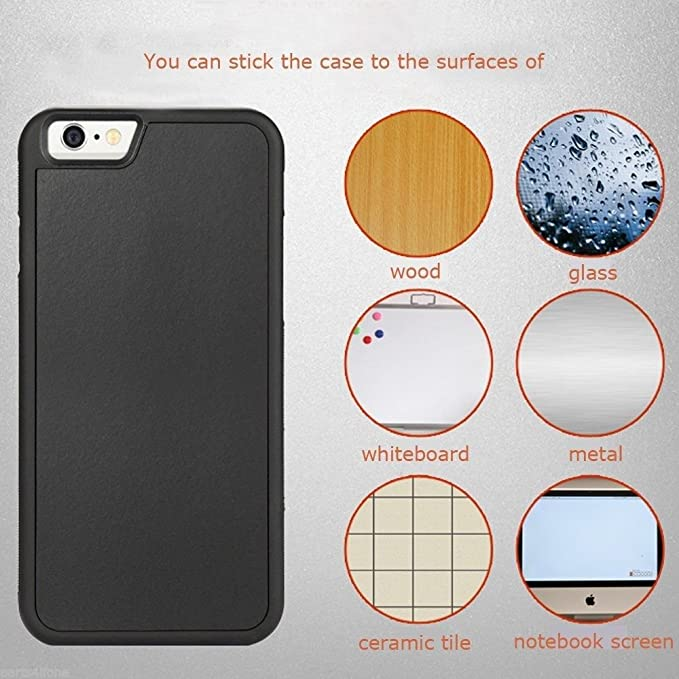 Amazon.com: aukoo antigravedad selfie Funda para iPhone 6/6S ...