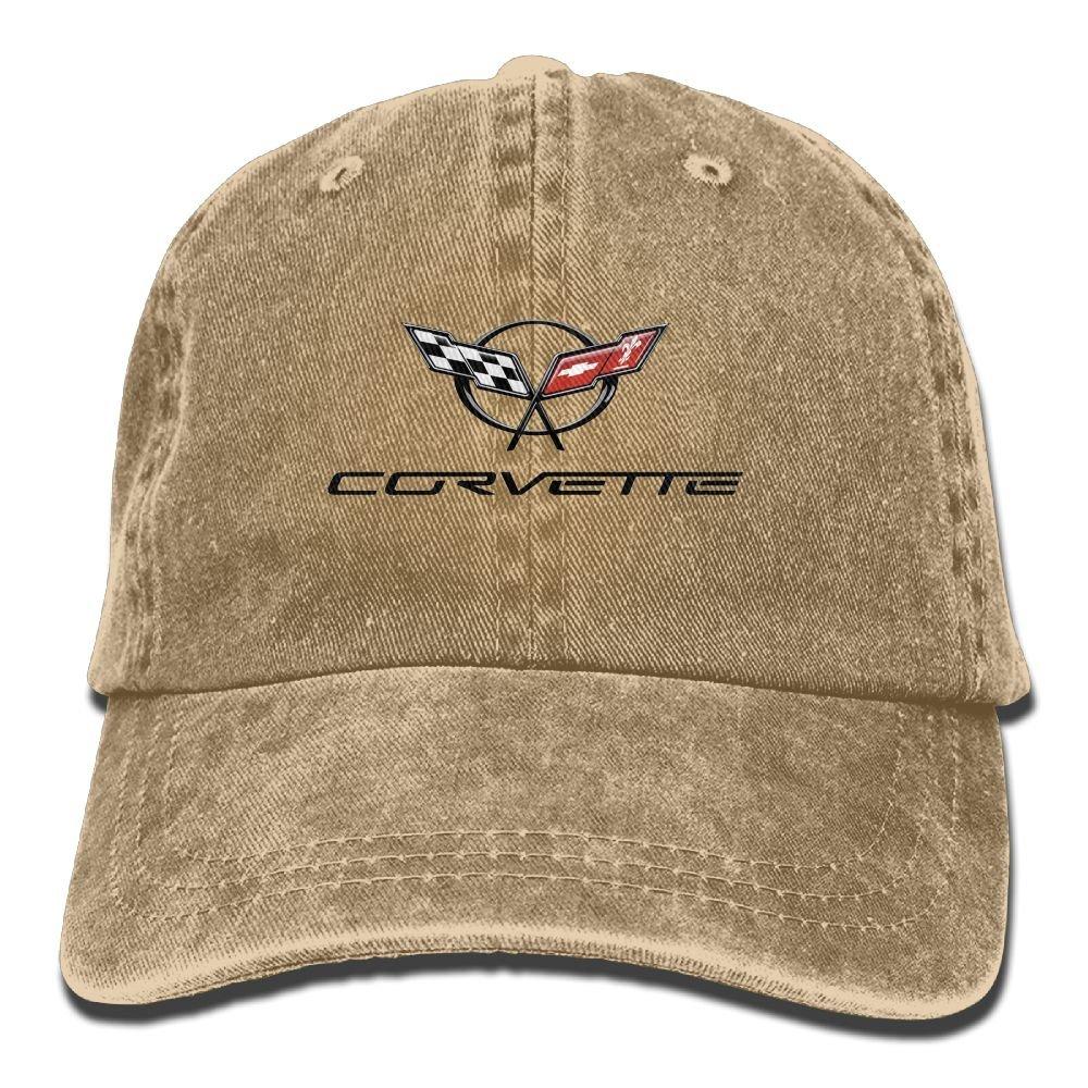 CharmingHouse Corvette Unisex Baseball Cap Trucker Hat Adult Cowboy Hat Hip Hop Snapback