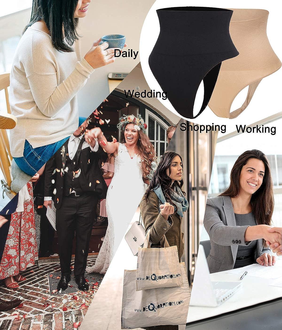 SLIMBELLE Mujer Faja Cintura De Braga Alta Shapewear Bragas Braguitas Adelgazante con Abdomen Reductora Control Moldeadoras