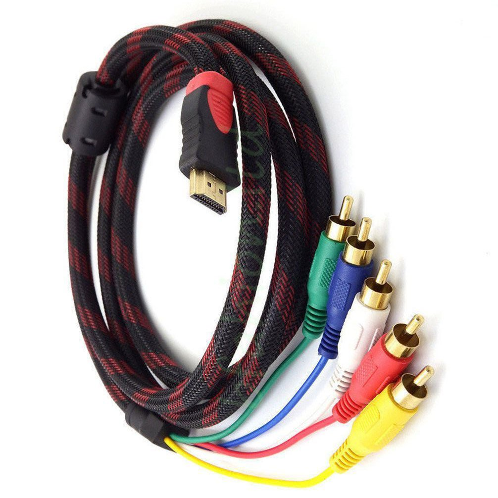 Xintronics 5FT 1.5M 24K HDMI to RCA Cable, Not with Work Xbox 360/PS3/PC/Samsung 55'' Smart TV by Xintronics