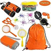 Kit de Binoculares para Niños,Kit de Exploración 15
