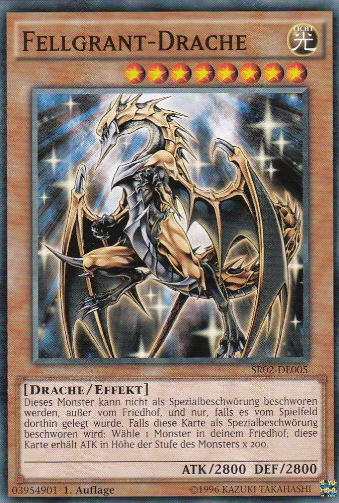 SR02-D005 - Fellgrant-Drache - Common - Yu-Gi-Oh - Deutsch - 1. Auflage - LMS Trading