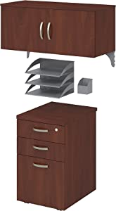 Bush Business Furniture Office in an Hour Storage and Accessory Kit