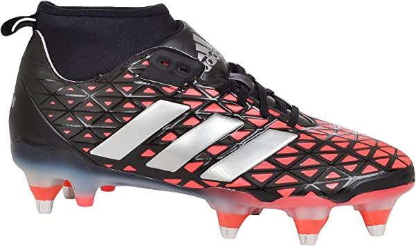 adidas Performance Homme Chaussures de Rugby Rugby Noir