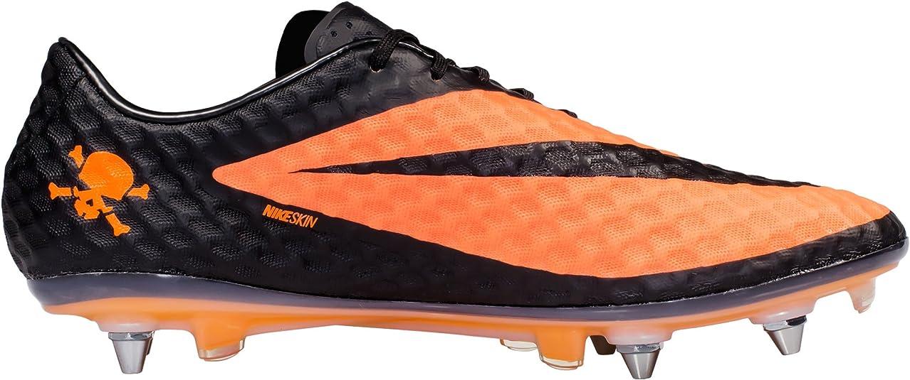 Cerveza años Remo  Amazon.com | Nike Men's Hypervenom Phantom SG-PRO Soccer Cleats. Size 13.  Black/Black-Bright Citrus | Soccer