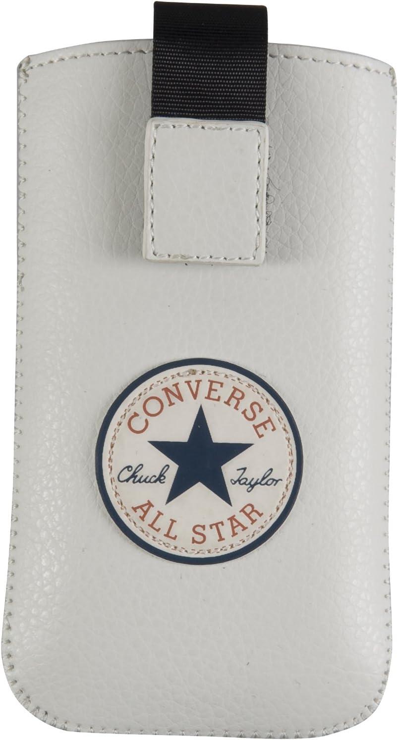 Converse All Star - Estuche de cuero sintético con parche con logo: Amazon.es: Electrónica