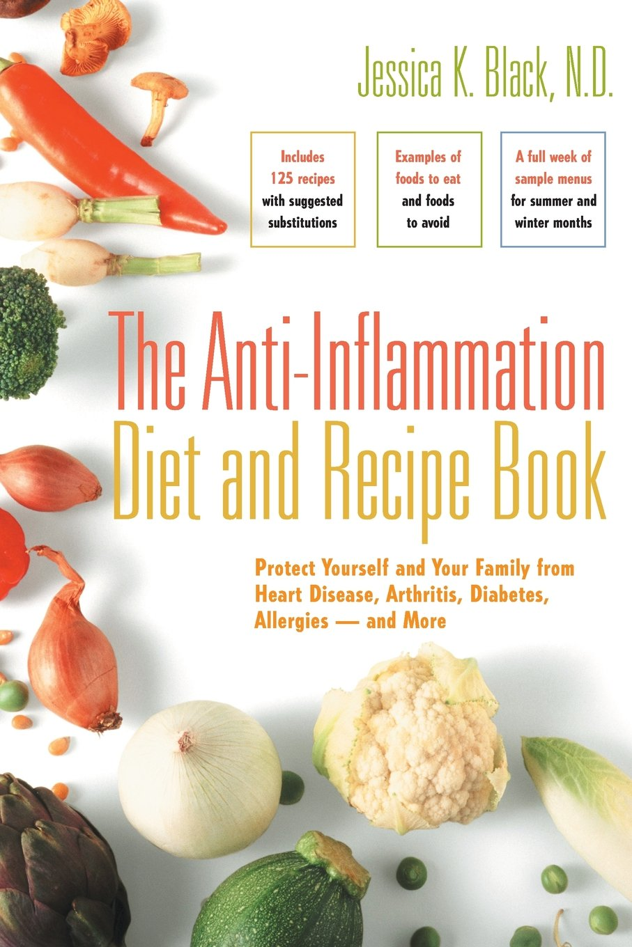 The anti inflammation diet and recipe book protect yourself and the anti inflammation diet and recipe book protect yourself and your family from heart disease arthritis diabetes allergies and more jessica k forumfinder Images