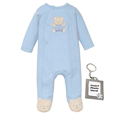 f478583f2 Amazon.com: Little Me Neutral Baby Clothes for Preemie Newborn Boys Or Girls  One Piece Footie Footed Sleeper: Clothing