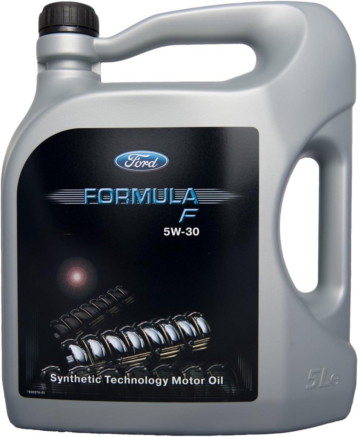 Ford 14E9EC Longlife Formula F 5W-30 - Aceite de motor WSS-M2C913-C (incluye WSS-M2C913-A, WSS-M2C913-B), ACEA A5/B5,5L, 1 unidad