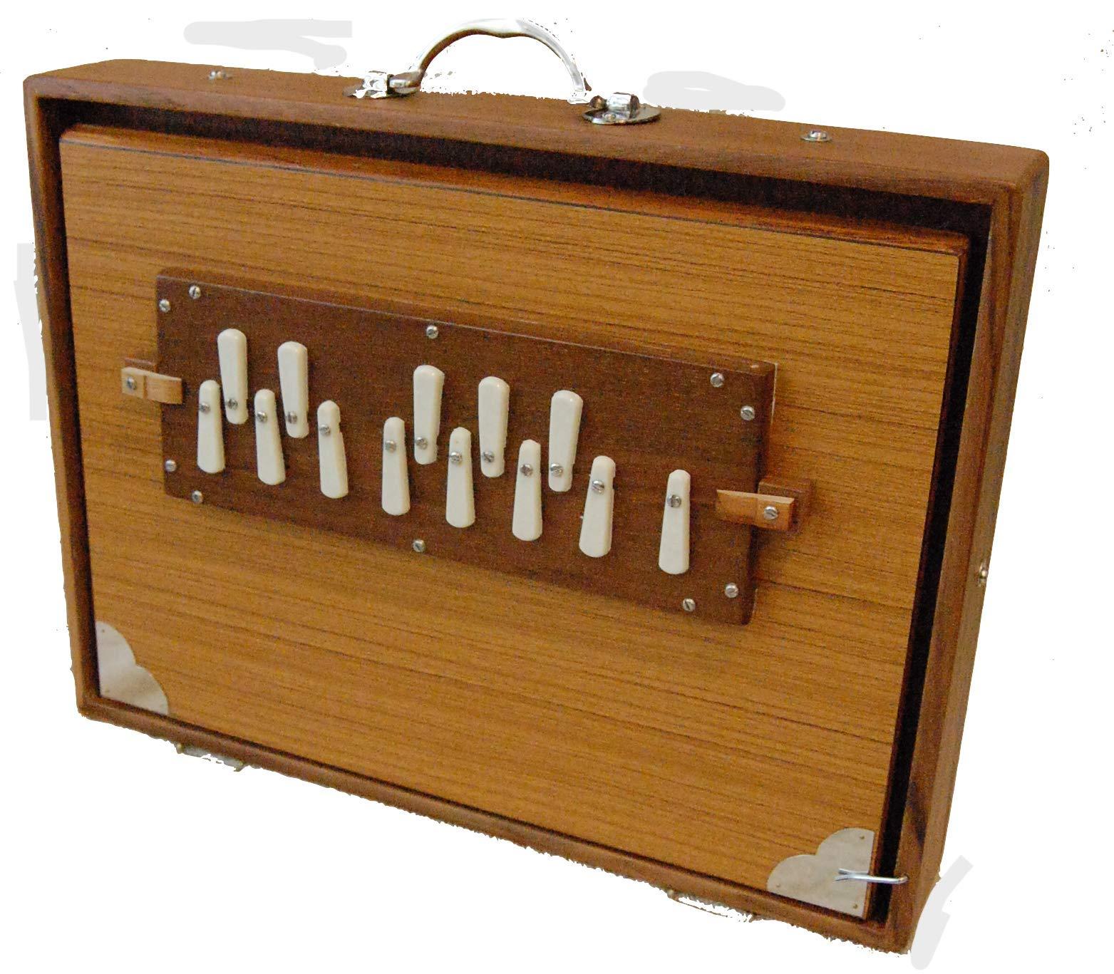Monoj Kr. Sardar X Brooklyn Healing Arts Large Shruti Box by Monoj Kr. Sardar & Bros.