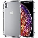 エレコム iPhone Xs Max ケース 衝撃吸収 TRANTECT ハイブリッド バンパー 【iPhoneを美しく守る。】 クリア PM-A18DHVBCR