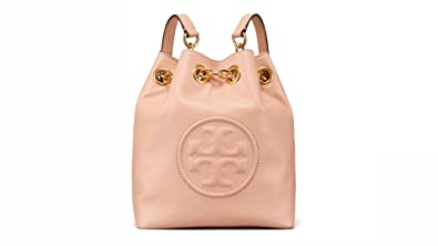 9c5e6f492c6 Image Unavailable. Image not available for. Color  Tory Burch Fleming Mini  Bucket Tote Convertible Backpack ...