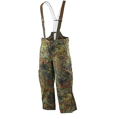 Genuine del ejército alemán, chaqueta impermeable de combate de Gore Tex incluye pantalones y pechera pantalones.: Amazon.es: Ropa y accesorios
