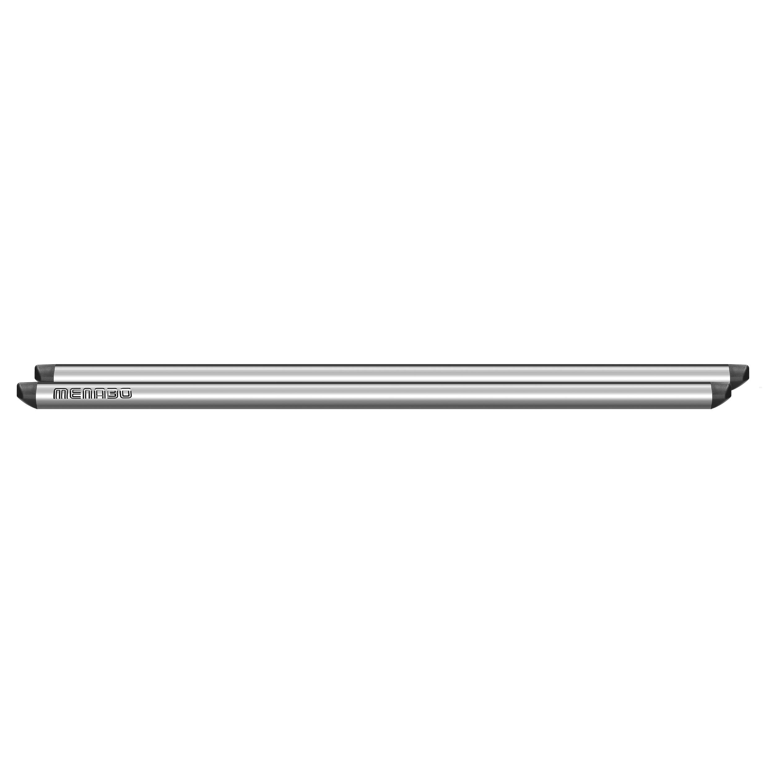 Menabo Profile Roof Bar X-Large, Set of 2, Silver