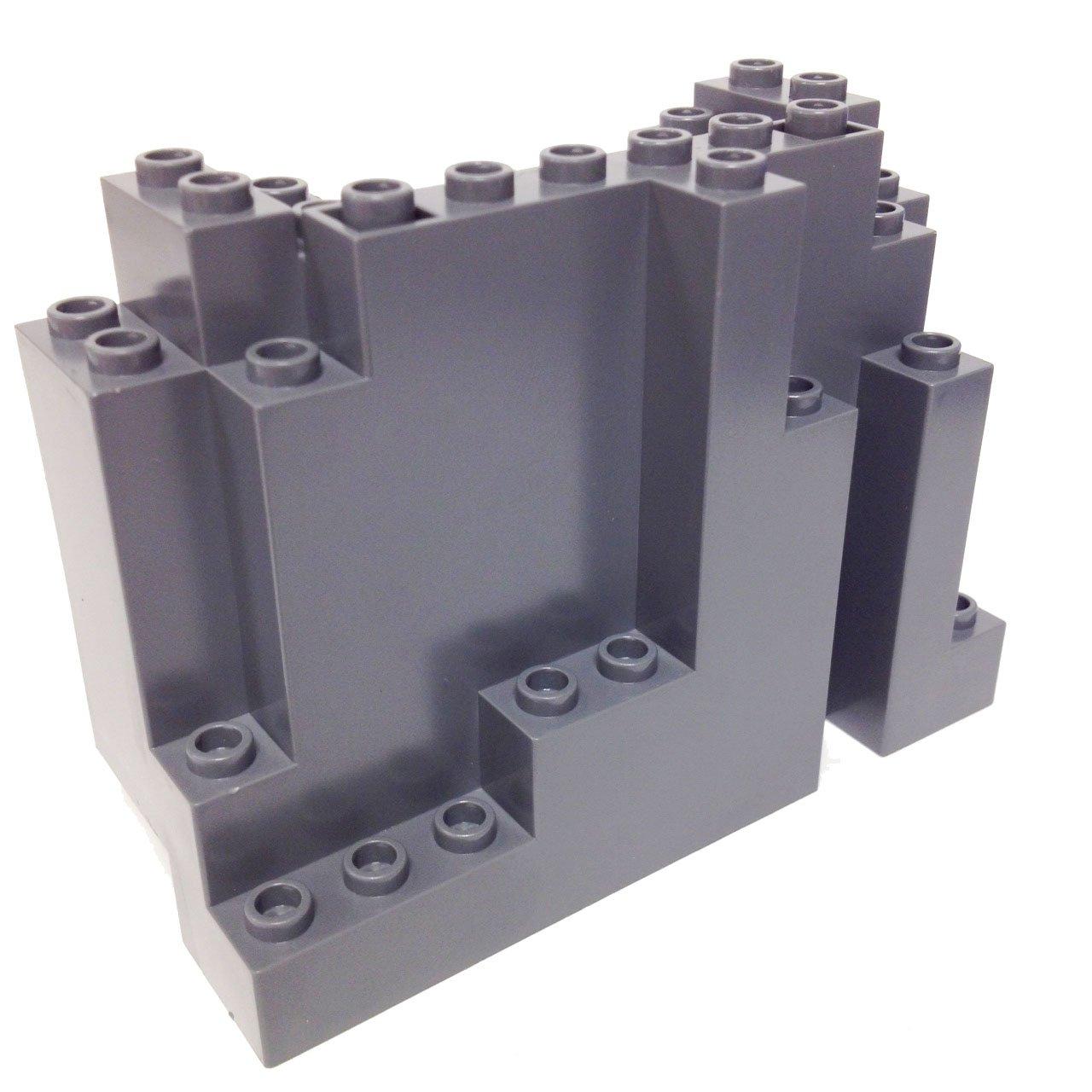Lego Parts Mountain Brick 4 X 10 6 Rock Panel Skeleton Tower 7093 Rectangular Burp Dbgray Toys Games