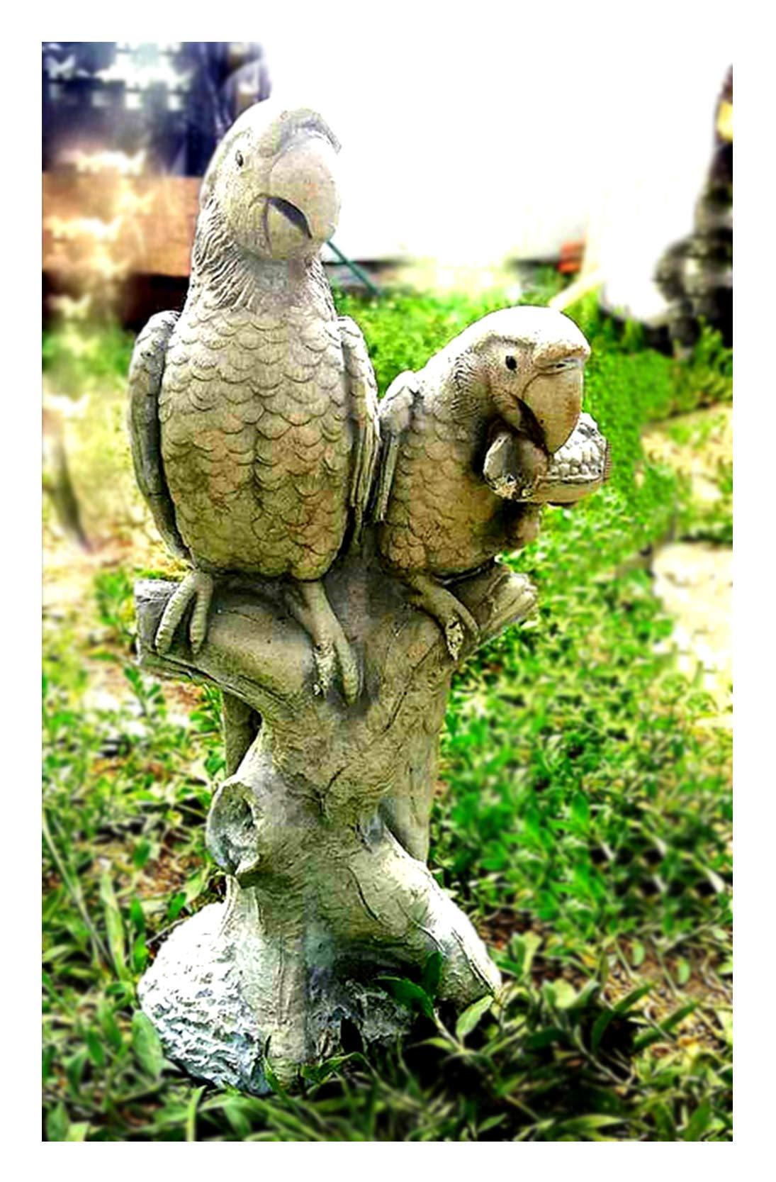 FORMDEKOR-UA Polyurethane Flexible Form Parrots   Polyurethane Forms   Polyurethane Texture   Polyurethane Stamping   Figurine Decor   Garden Decor   Garden Statue   Garden Figures