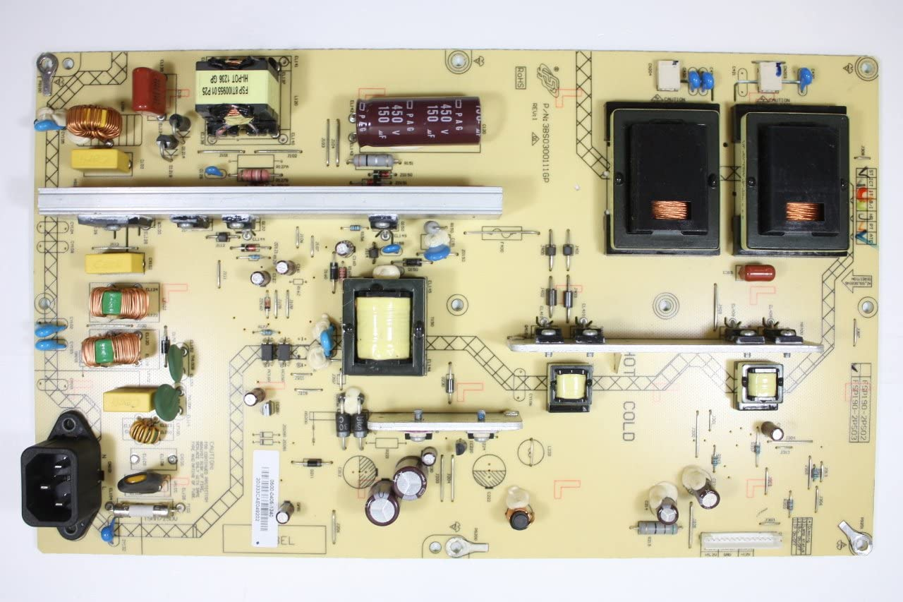 VIZIO 47 E471VLE 0500-0405-1340 LCD Power Supply Board Unit