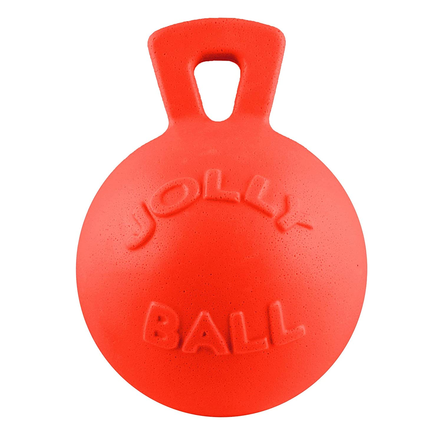 Horsemans Pride Jolly Pets Dual Jolly Ball Dog Toy One Size orange