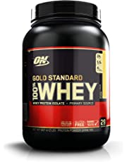 Optimum Nutrition Gold Standard 100% Whey Protein Powder, Banana, 909 Grams