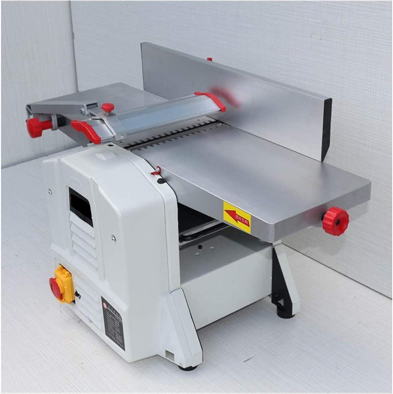 Portátil Sierra de mesa multifuncional, eléctrico 8 pulgadas de escritorio de madera industrial 1500w mecánico de grosor ajustable / cepilladora Combinación máquina de la carpintería Herramientas eléc