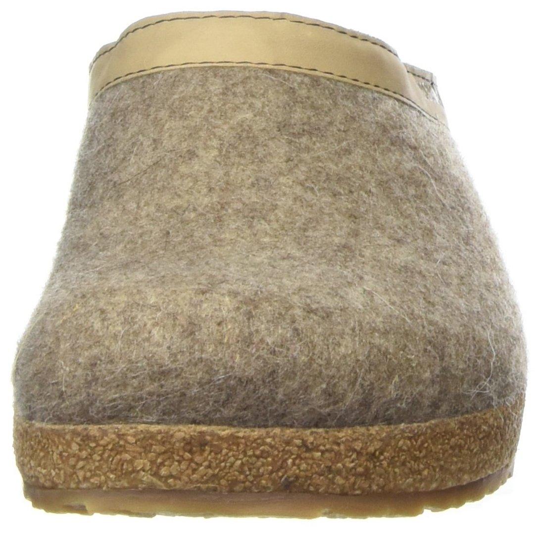 Haflinger 713001-550 Slippers, Filztoffel Grizzly Torben, torf, Gr 43 by HAFLINGER (Image #4)