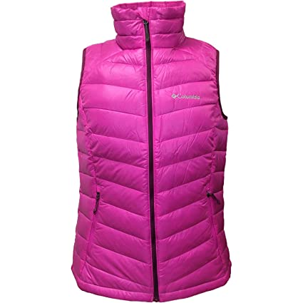 Columbia Womens Platinum 860 TurboDown (Groovy Pink/Dark Raspberry) Large