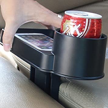 Tirol T22806 - Portavasos para Coche Soporte Sostenedor de Bebida Cola Botella Taza, Color Negro: Amazon.es: Coche y moto