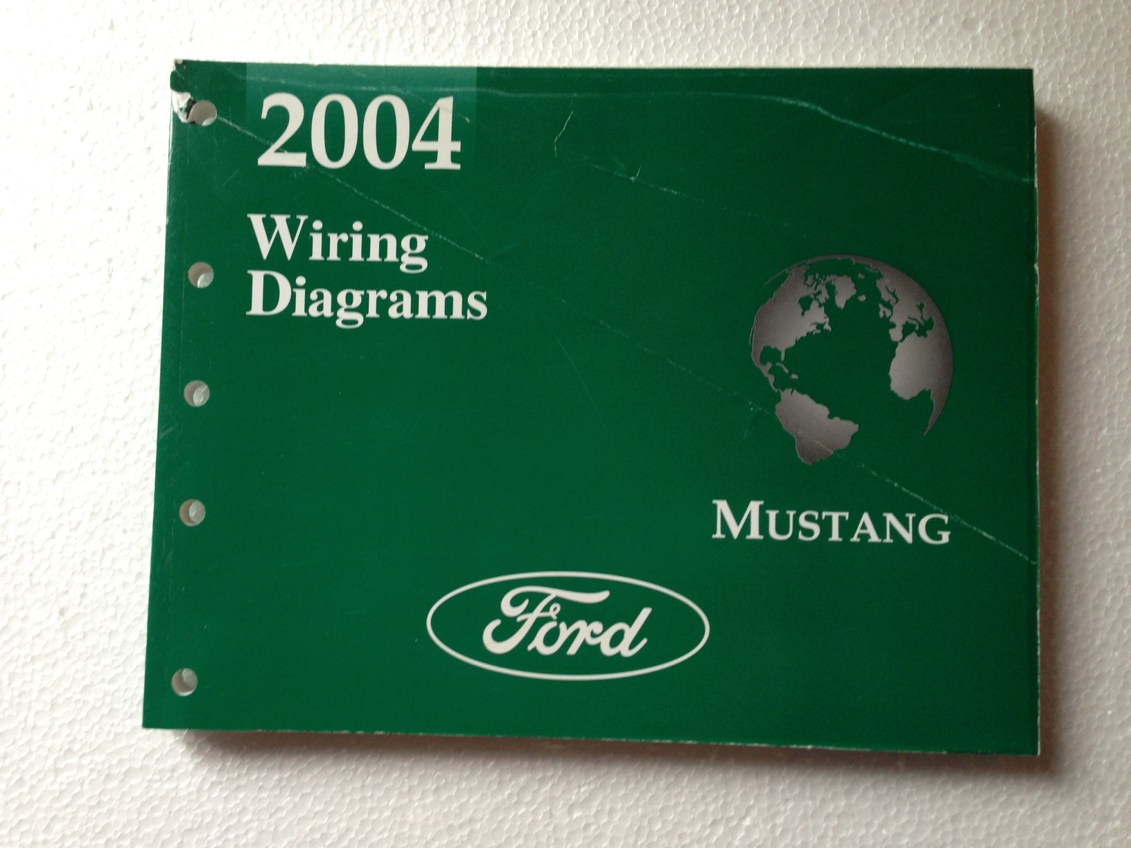 2004 ford mustang wiring diagram manual original paperback – 2004
