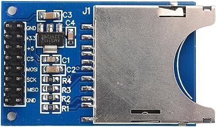Amazon.com: SunFounder ranura para módulo de tarjeta SD ...