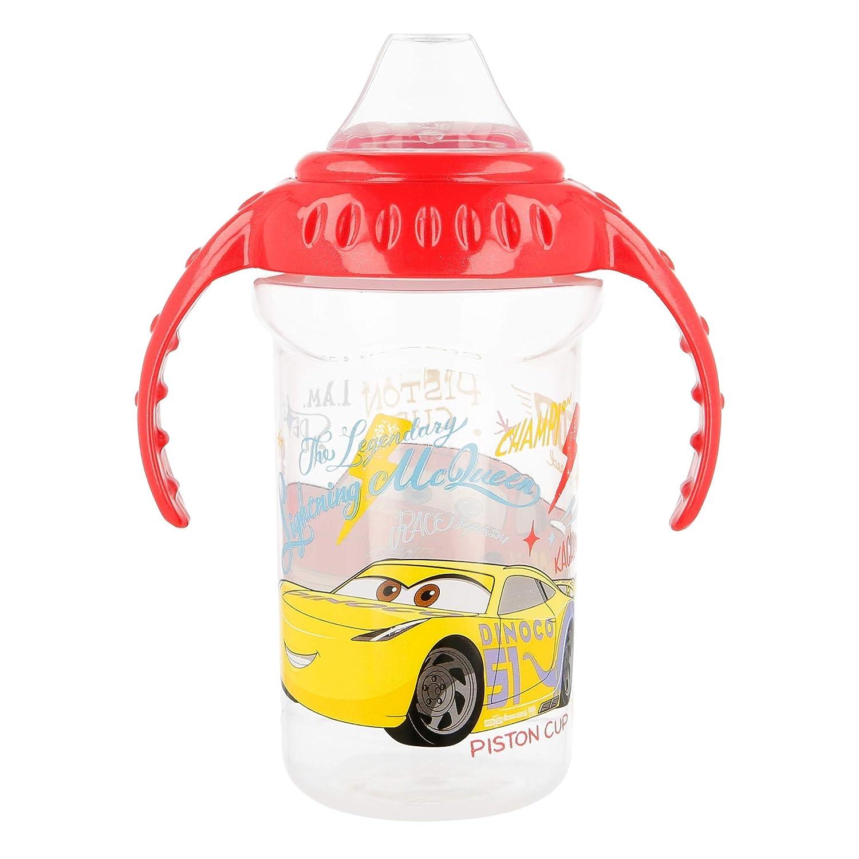 , Ni/ño//ni/ña, Silicona es Carrefour 44128 vaso de aprendizaje con boquilla Spout cup 330 ml Vasos de aprendizaje con boquilla PP Spout cup, 10 mes Polipropileno Multicolor