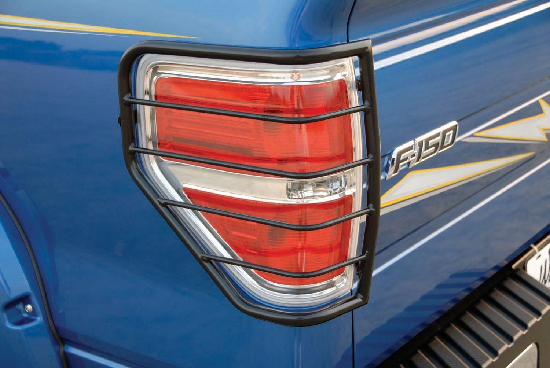 & Amazon.com: Westin 39-3425 Black Tail Light Guard: Automotive azcodes.com