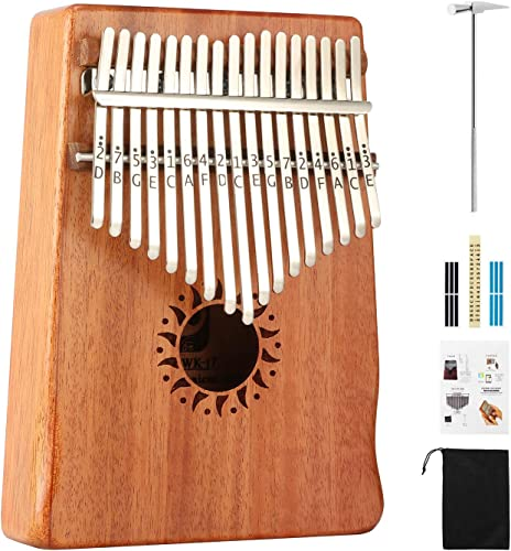 Donner 17 Key Kalimba Thumb Piano