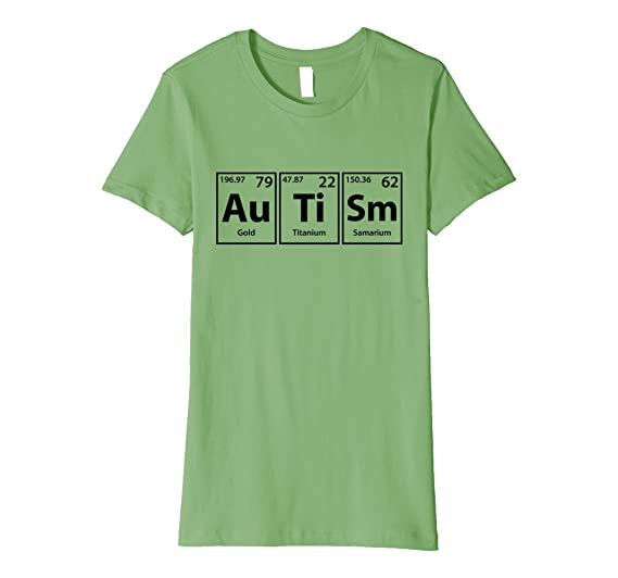 amazoncom autism periodic table elements spelling t shirt clothing