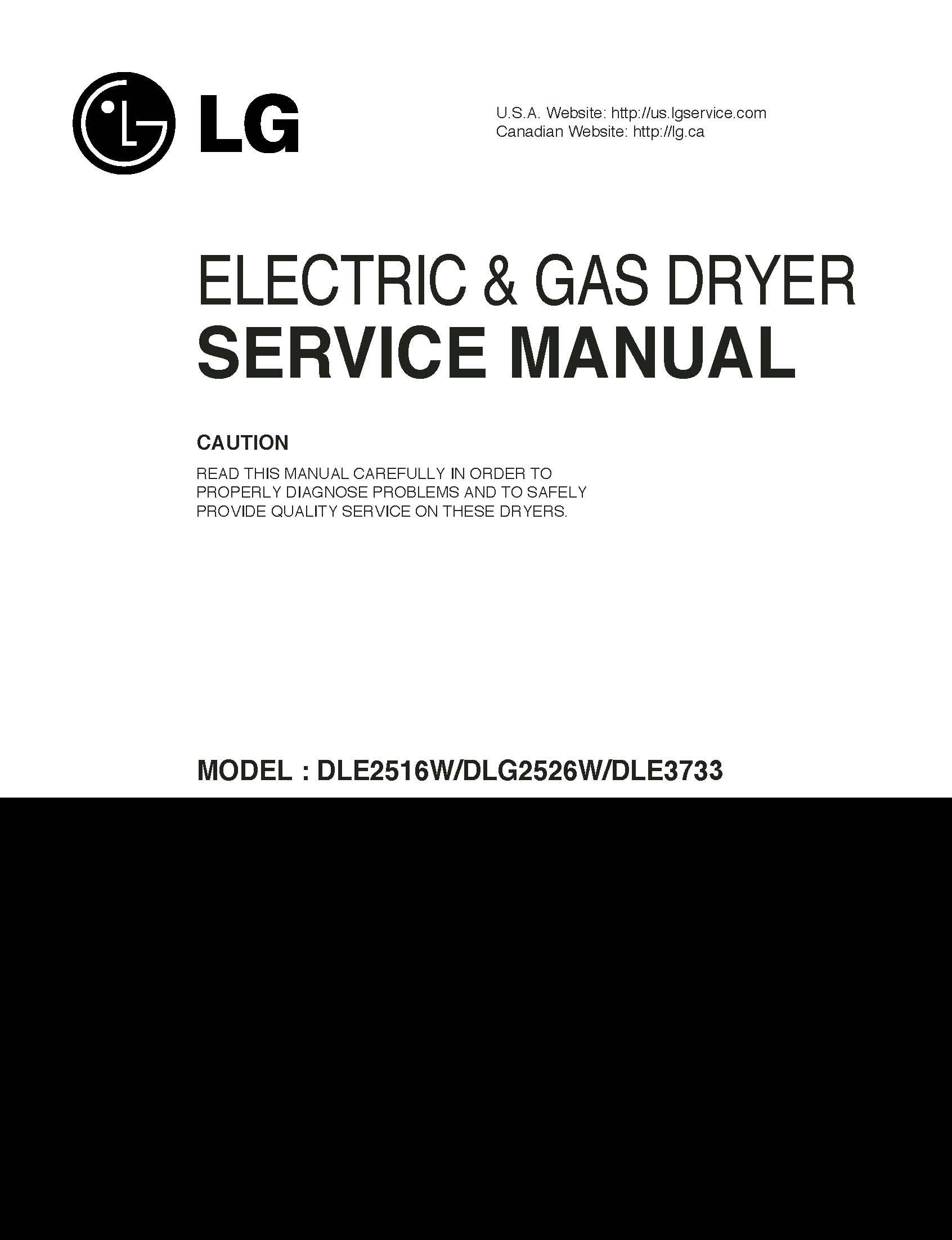 lg dlg2526w dle2516w dle3733 service manual lg amazon com books rh amazon com Home Depot Washer and Dryer Sets LG Washer and Dryer