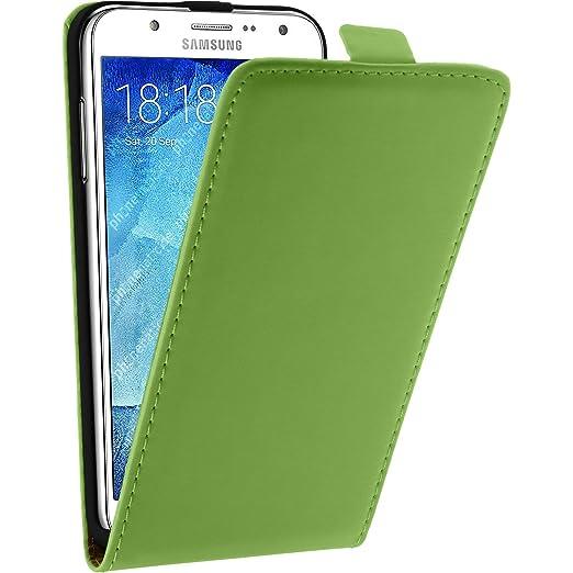 41 opinioni per Copertura di cuoio artificiale per Samsung Galaxy J5 (2015- J500)- Flip-Case