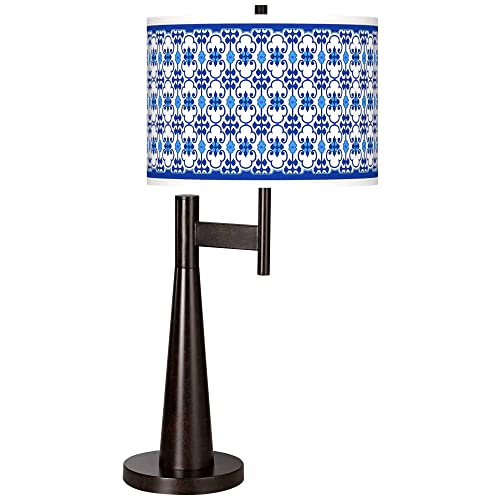 Indigo Path Giclee Novo Table Lamp – Giclee Glow