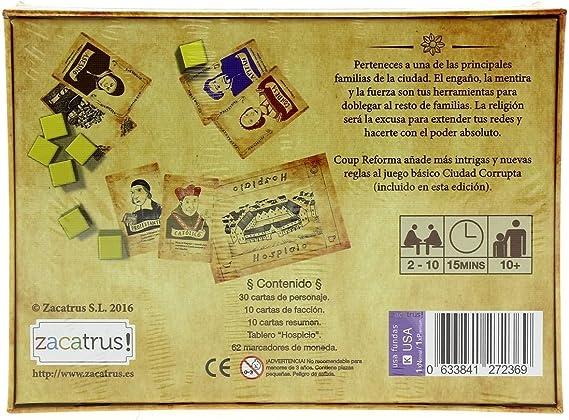 Zacatrus!- Coup y reforma (ZAC011): Amazon.es: Juguetes y juegos