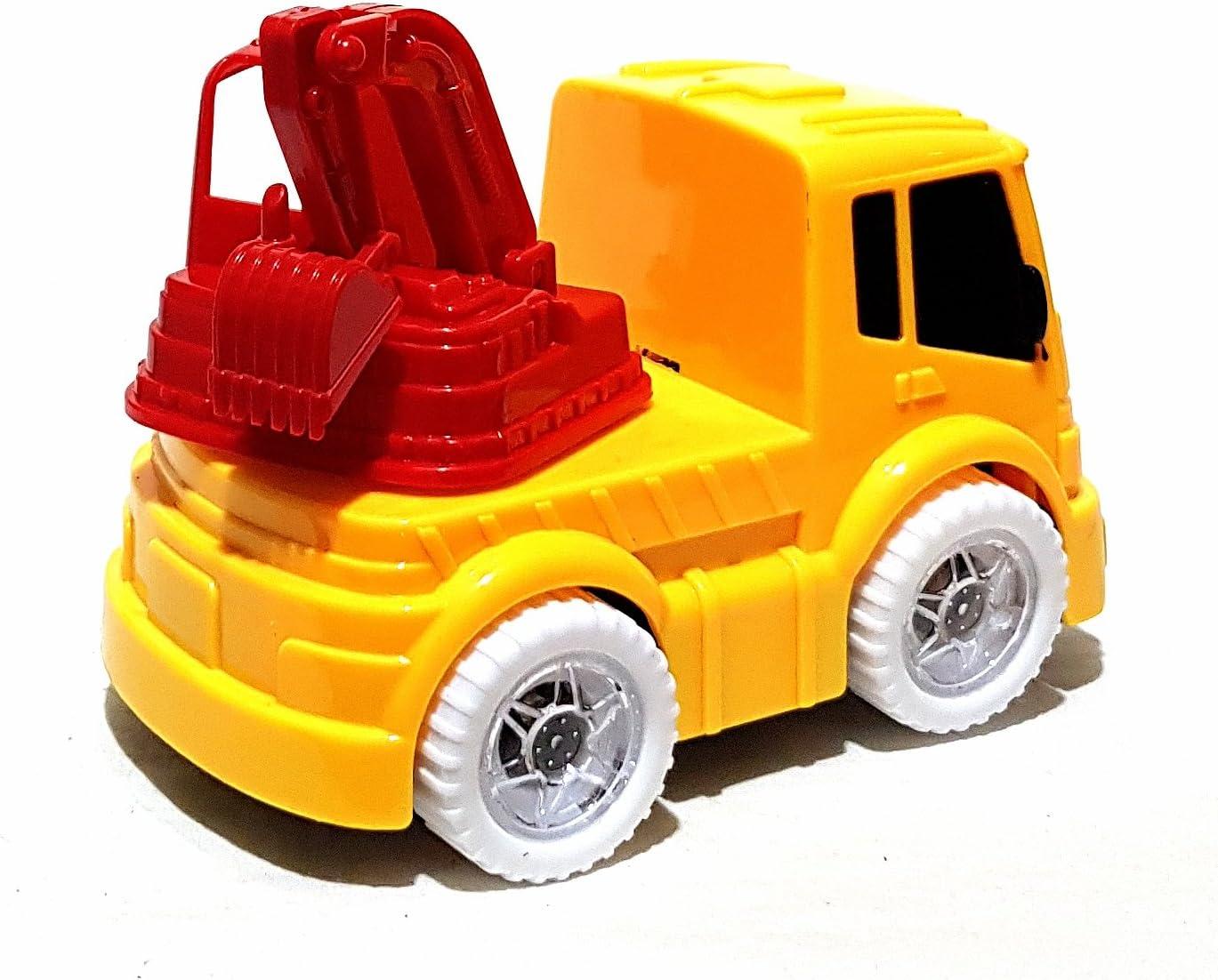 Brother 2X Mini Truck Kranwagen Kran Laster Kipplaster Auto Licht ...
