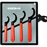 4Pcs Coilover Wrench Shock Spanner Wrench Set Universal Shock Tool Adjustment Tool For Most Coil Over